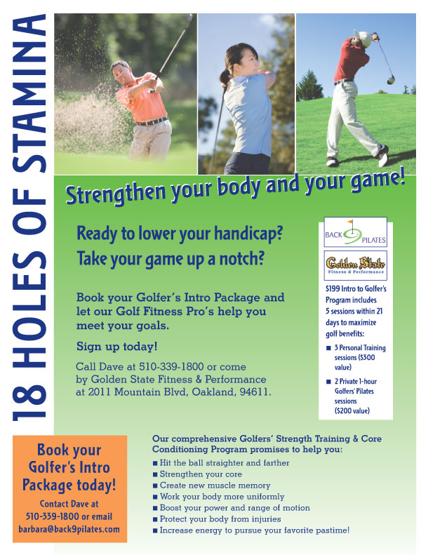 Intro Special: Your 21 Day Golf Strengthening and Conditioning Program
