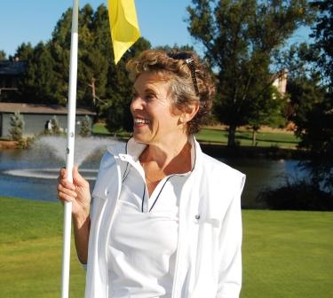 Barbara Hoffer Golfing